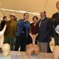 Visita auno de los stands en la IV Semana del Arte (Foto-MCC)