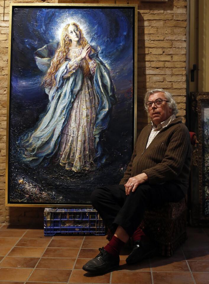 Pintor Juan Ribera Berenguer (Foto: AVAN // Alberto Sáiz)
