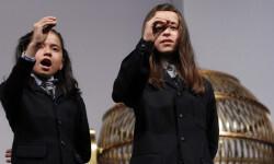 Los niños de San Ildefonso se preparan para cantar la Lotería de Navidad RTVE