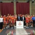equipo campeon visita concejal