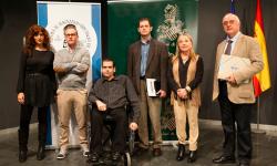 Ganadores de los Premios Valencia de la Institució Alfons el Magnànim en 2014.