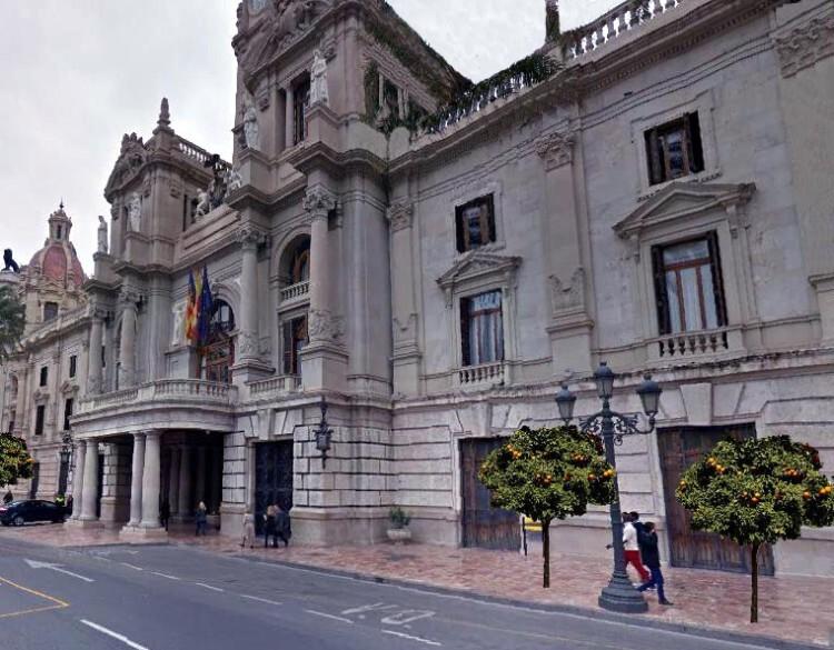 0128 Naranjos fachada Ayuntamiento