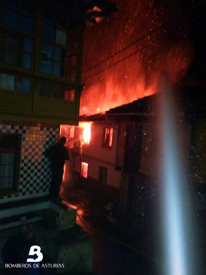 Fotos cedidas por los bomberos del SEPA
