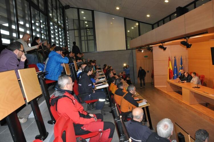 2015.01.27 Inaguracion Encuentro de Profesionales de Montaña SEPA