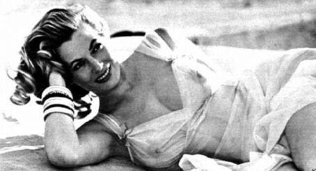 Anita Ekberg en una foto tomada en 1953.