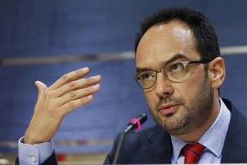 Antonio Hernando, portavoz del PSOE. (Foto-efe)