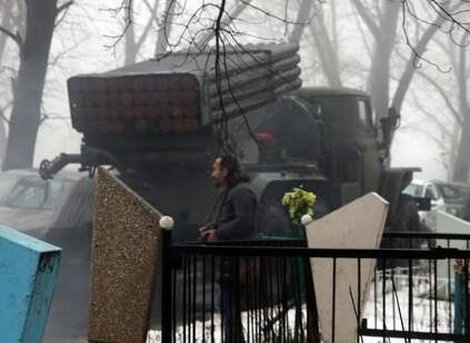 Ataques en Donetsk que rompen el alto el fuego. (Foto-Agencias)