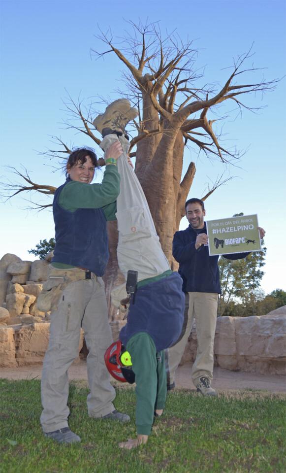 Bioparc - hazelpino - reto día del árbol 2015 bj