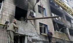Bombardeos en la ciudad de Donetsk. (Foto-EPA)