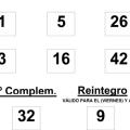 COMBINACIÓN GANADORA DEL SORTEO DE BONOLOTO DEL VIERNES 31 DE ENERO DE 2014
