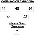 COMBINACIÓN GANADORA DEL SORTEO DE EL GORDO DE LA PRIMITIVA DE FECHA 25-1-2015