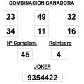 COMBINACIÓN GANADORA DEL SORTEO DE LA PRIMITIVA DEL 1 1 2015
