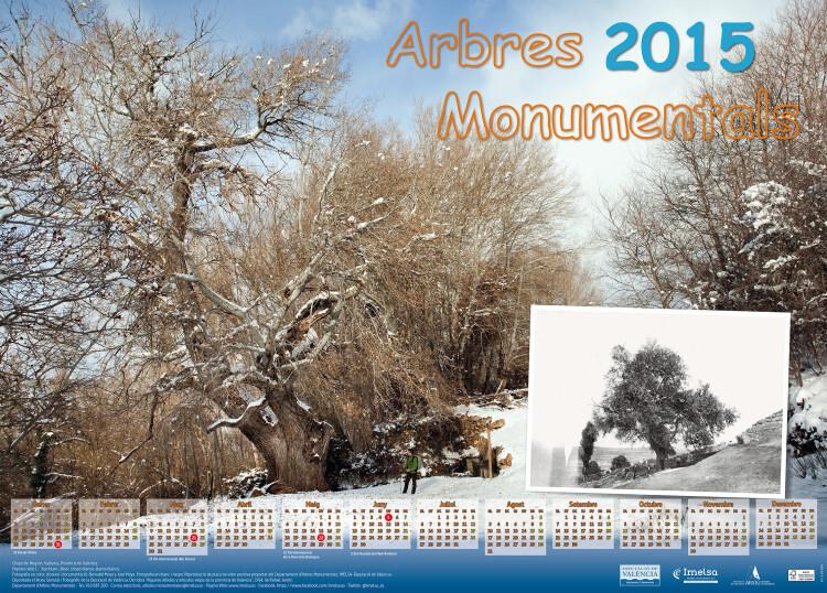 Calendario arboles monumentales 2015