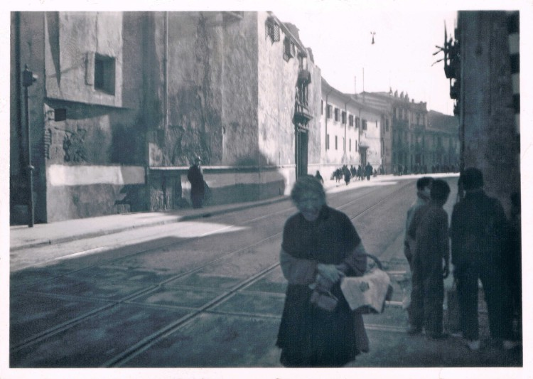 Calle Sagunto. Convento San Julián . ca. 1936. A. P. R. S.