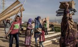 Desplazados sirios. (Foto-ACNUR)