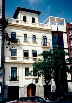 Edificio de la SGAE en Valencia.