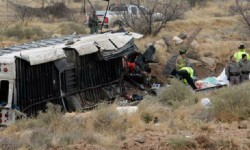 El accidente se registró en en Estado deTexas. (Foto-AP)