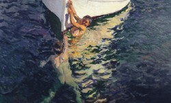 'El bote blanco. Jávea', de Joaquín Sorola.