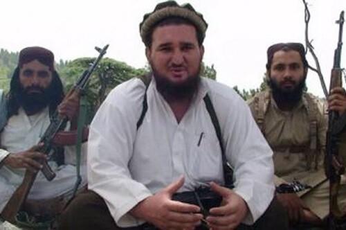 El lider talibán Ehsanullah Ehsan. (Foto-AP)