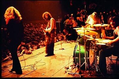 El mítico grupo Led Zeppelin