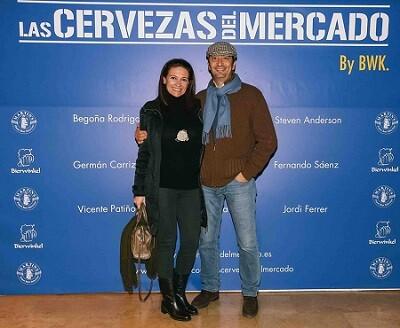 El maestro Vicente Barrera con su mujer