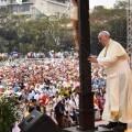 El papa Francisco en Manila. (Foto-AP)