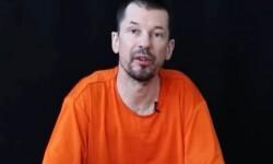 El periodista John Cantlie secuestrado por los terroristas islamitas. (Foto-AP)