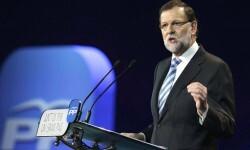 El presidente del Gobierno, Mariano Rajoy, cierra la concvención nacional del PP. (Foto-Agencias)