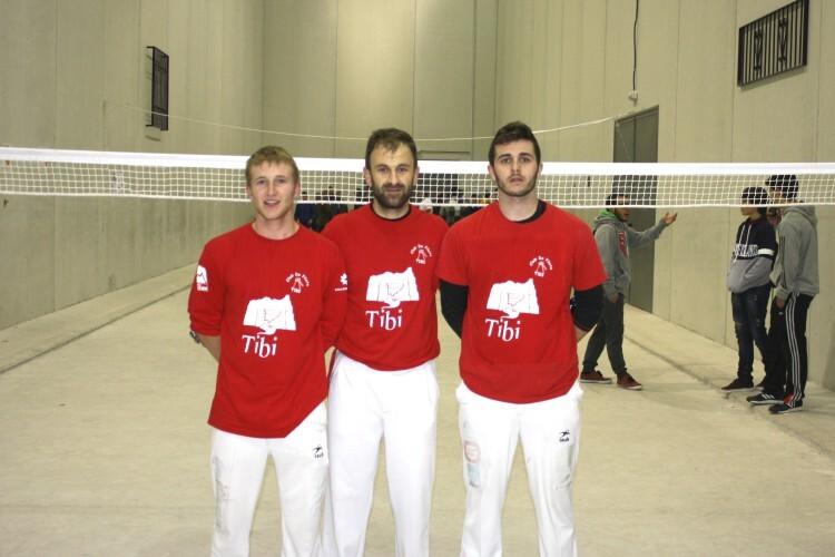 El trio de Tibi que se ha plantado en semifinales de la Copa Generalitat