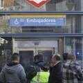 Entrada de la estación de Metro. (Foto-Agencias)