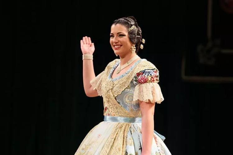 Estefanía López, Fallera Mayor de Valencia (1)