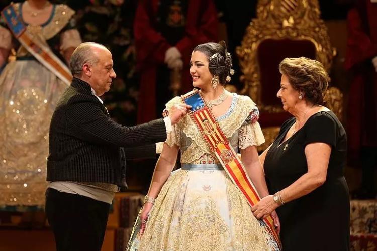 Estefanía López, Fallera Mayor de Valencia (2)