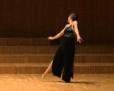 Eva Bertomeu, una de las más destacadas bailarinas valencianas.