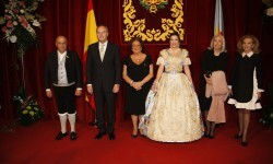 Exaltación de la Fallera Mayor de Valencia 2015, Estefanía López (4)