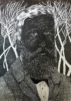 Felipe Thoreau, una de las obras que podrán verse en la exposición.