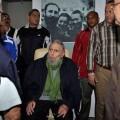 Fidel Castro en su reunión con Frei Betto.