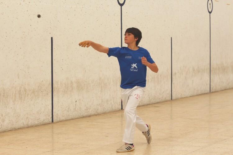 Jandi, punter del equipo de Murla