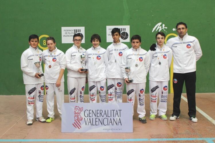 Foto. Los jugadores de El Puig, favoritos en las categorías alevín i infantil