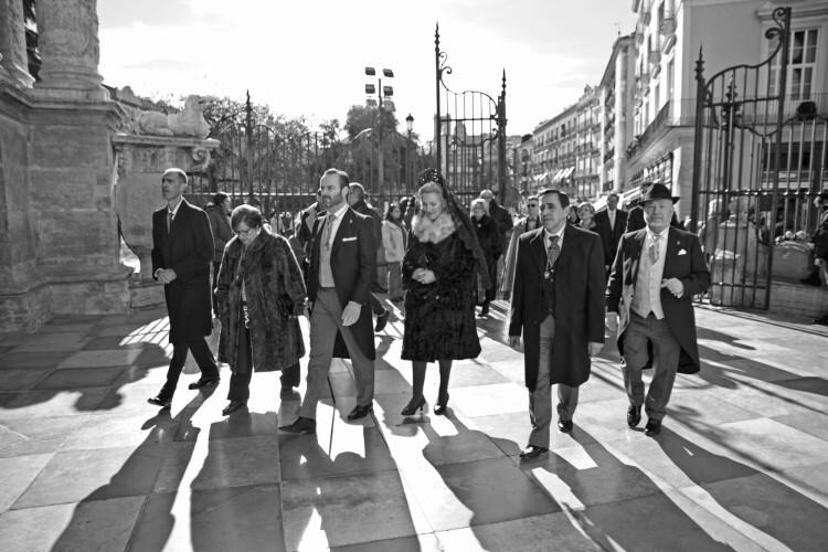 Francisco Fonseca, Amparo Gómez, Fran Tochena, Susi Horcajo y Jose Eduardo Puertes y Diego Ordáez