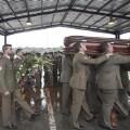Funeral por el casco azul español.