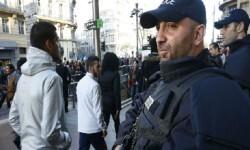 Gran despliegue policial en París. (Foto-AFP)