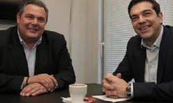 Griegos Independientes y Syrisa pactan gobierno. (Foto-AP)