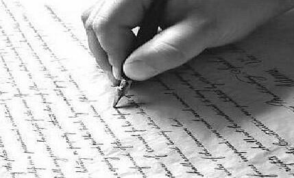 Imagen de escritura a mano.