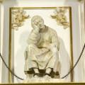 Imagen en mármol de San Vicente Mártir. Foto: A. Sáiz / AVAN
