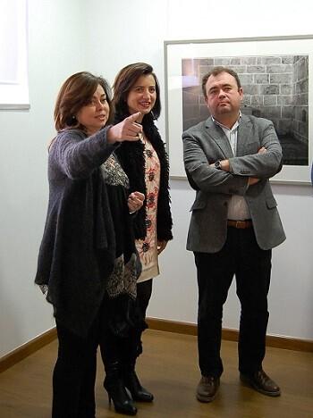 Inauguración y visita de la exposición.