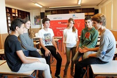 KITCAIXA una oferta educativa para los jóvenes más emprendedores.