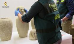 La Guardia Civil desarticula un grupo dedicado al comercio internacional de bienes culturales OP.HIERATICA FOTO3 (3)