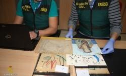 La Guardia Civil desmantela una red de estafadores que intentaban comercializar dibujos falsificados de Miró, Picasso y Matisse.