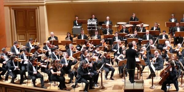 La Orquesta Sinfónica de Praga FOK en uno de sus conciertos.