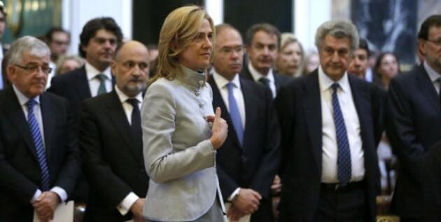 La infanta Cristina de Borbón en imagen de archivo en un acto académico. (Foto-Agencias)